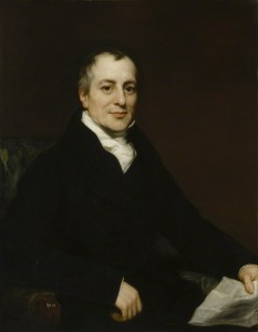by Thomas Phillips, oil on canvas, circa 1821